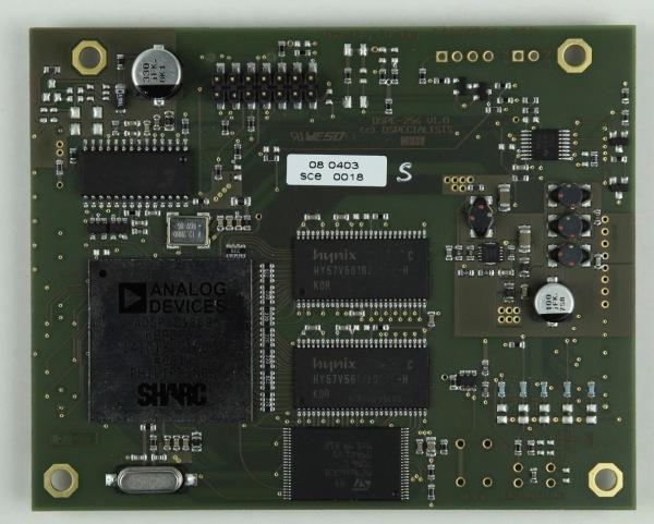 DSPE-256 bietet bei kompakter Bauweise vielfältige Signalverarbeitung