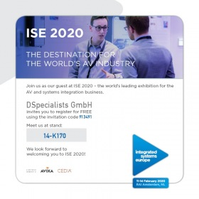 Free Entry Code DSPECIALISTS 913491 - ISE2020
