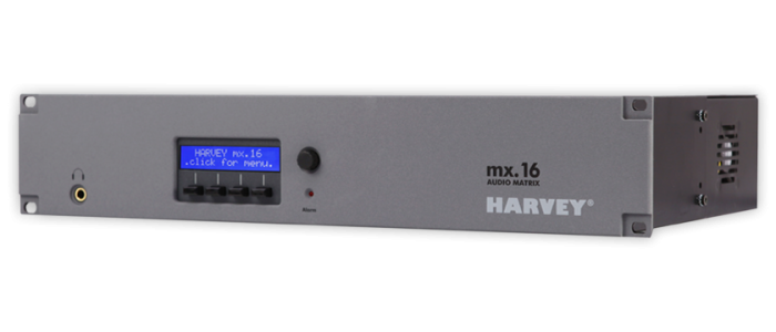 HARVEY mx.16 Frontansicht